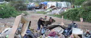 Immagini che spiegano perché è stata chiesta la bonifica dei campi nomadi