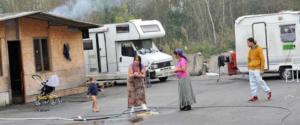 Altre immagini di degrado scattate nei vari campi rom del Piemonte
