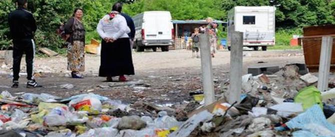 Roma, blitz al campo La Barbuta, arrestati 3 rom: rapinavano altri nomadi