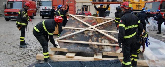 Sisma, Basilica di Norcia: l'affresco della Madonna sarà messo in salvo