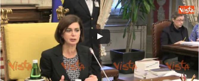 """Boldrini abolisce i padri: """"Il figlio lo fa la madre, il papà non conta"""" (VIDEO)"""
