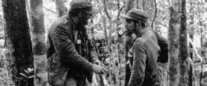 Castro e Che Guevara durante i due anni di guerriglia nella Sierra Maestra