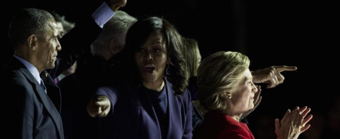 Clinton, chiusura col brivido e con le sviolinate di Obama e del Boss