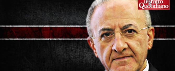 Nuove frasi-choc di De Luca: «Fate clientele, ognuno porti 4mila Sì» (audio)