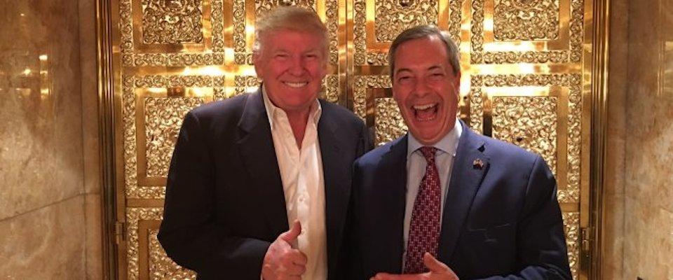 Farage scavalca Theresa May: sarà lui il mediatore tra Usa e Gran Bretagna