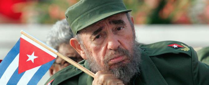 Fidel è morto, i suoi fallimenti restano: i suoi fans italiani si rassegnino