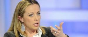 Meloni: «Le primarie sono da fare, anche se Berlusconi non è d'accordo»