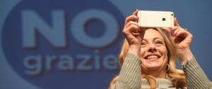 Referendum, Meloni: «Mattarella non si comporti come Napolitano»