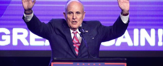 """Usa: nella supersquadra di destra spunta Rudy Giuliani, """"Mr tolleranza zero"""""""