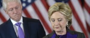 Hillary accetta la sconfitta: «Trump è ora il nostro presidente»