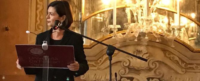 Meloni: ma la Boldrini non ha niente da dire sul branco di vermi magrebini?