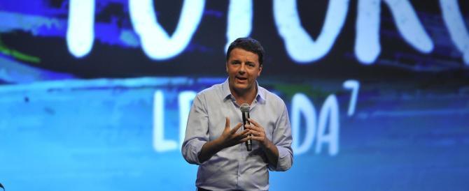 Renzi, alla Leopolda con rancore: «In tanti hanno cambiato idea sulla riforma»