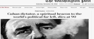 La morte di Fidel Castro domina sui media, tra onori e recriminazioni