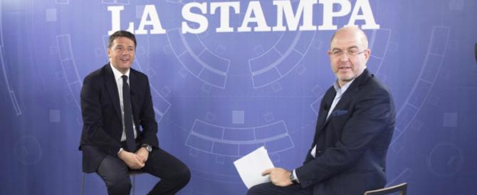 Renzi contro tutti: Economist, Monti, Berlusconi. Ma difende De Luca…