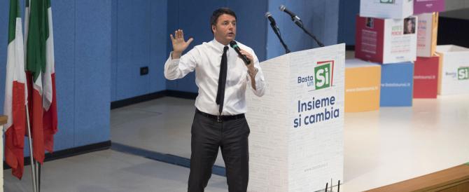 Renzi scrive alle famiglie italiane per avere il Sì al referendum. A spese nostre