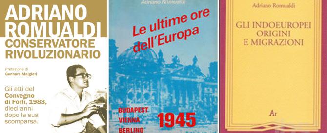 Un nuovo libro su Adriano Romualdi, che guardava più lontano degli altri…