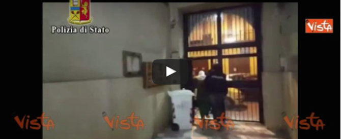 Blitz anti-immigrazione clandestina a Salerno: raffica di arresti (video)