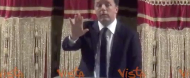 """Renzi contestato a Palermo da una precaria: """"Signora, lei non aiuta la sua causa"""" (video)"""