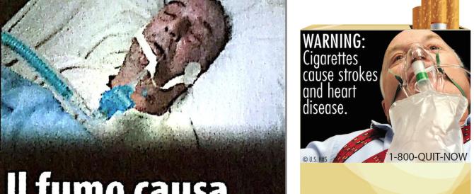 Pioggia di denunce per le discutibili foto-choc sui pacchetti di sigarette