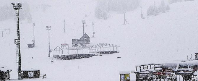 Al Sestriere ci sono 40 centimetri di neve fresca. L'inverno è già arrivato