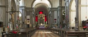 Venezia, urinano sull'altare della meravigliosa chiesa di San Francesco delle Vigne