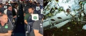 Disastro aereo in Colombia, la gioia poco prima dello schianto (video)