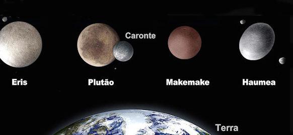 """Spettacoli astronomici d'autunno: la """"famiglia"""" dei pianeti nani"""