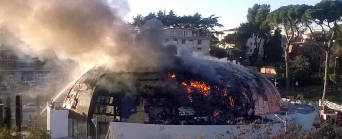 Roma, scandalo record: auditorium, mai inaugurato, va a fuoco dopo 13 anni