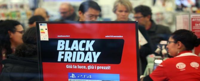 Il Black Friday funziona in Campania. A Roma la pioggia rovina tutto