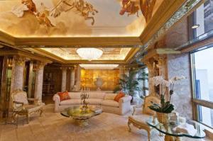 Trump: l'appartamento extra lusso di Donald e Melania