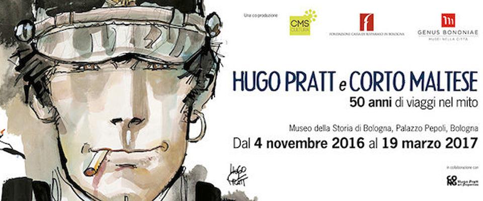 Nuvole parlanti/ A Bologna Hugo Pratt in mostra, Corto Maltese ha 50 anni…