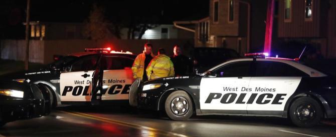 Iowa, uccideva poliziotti per vendetta. Arrestato dopo una caccia all'uomo