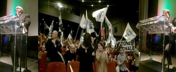 Rinasce l'asse Storace-Alemanno: no al referendum, sì a una nuova destra