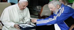 Papa Francesco incontra Fidel Castro