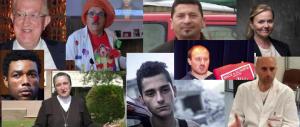 """Medici, suore, carabinieri e clown: ecco chi sono i 40 eroi civili """"invisibili"""""""