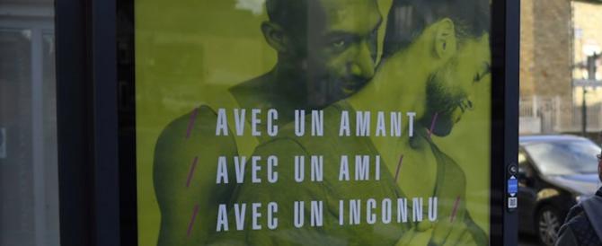 Francia, campagna anti-Aids con effusioni gay: i sindaci di destra si ribellano