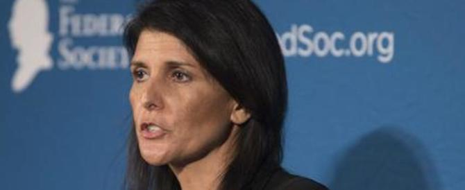 Trump nomina la Haley ambasciatore all'Onu: è la prima donna in squadra