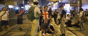 Protesta di piazza a Hong Kong