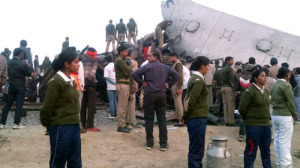 Over 60 killed in train accident in Uttar Pradesh, India