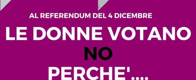 """""""Le donne votano No"""", convegno del Comitato sovranità popolare"""