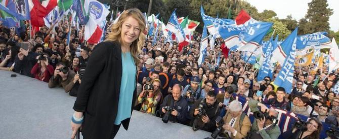 Meloni: «Organizziamo il 5 marzo le primarie del centrodestra »
