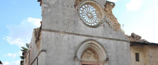 Nuovi crolli nelle chiese di Norcia. Il vescovo: bisogna sbrigarsi