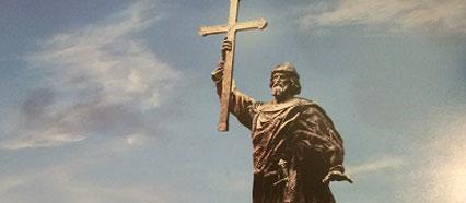 La Russia riconquista l'identità: statua gigantesca per il principe Vladimir