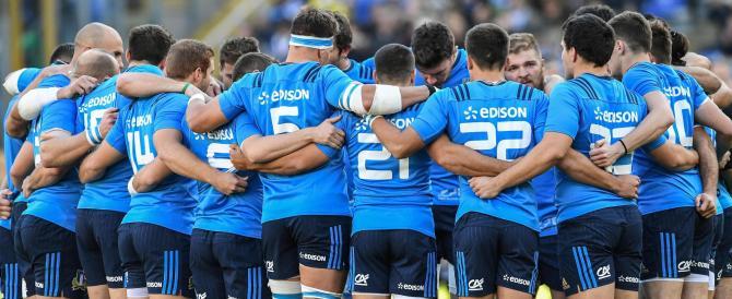 Rugby, l'Italia travolta dagli All Blacks che non schieravano le stelle nere