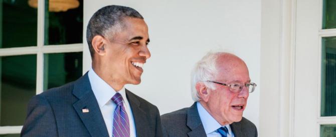 E ora volano i coltelli tra i democrats Usa: Obama contro Sanders