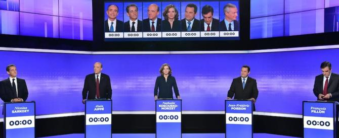 Républicains, ultima sfida in tv. Juppé imita Marine: «Voglio uno Stato forte»