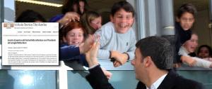 Pescara, premio speciale agli studenti che partecipano al comizio di Renzi
