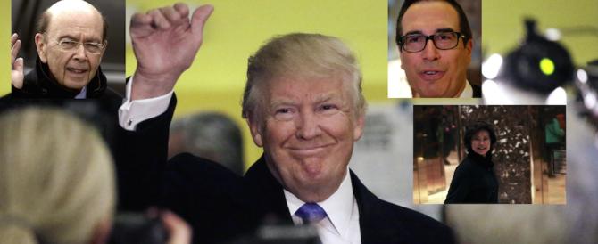 Il miliardario, il banchiere, la cinese: ecco i primi nomi del governo Trump