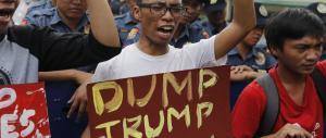 """La """"democratica"""" America in piazza contro Trump: vietato vincere…"""