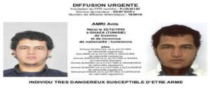 Amir ricercato per rapina in Tunisia, già arrestato e rilasciato in Germania
